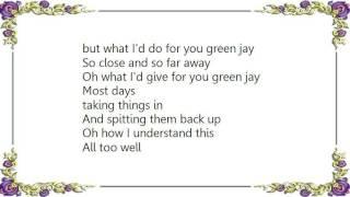 Christina Courtin - Green Jay Lyrics