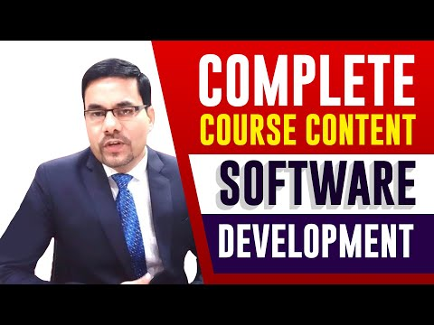 Complete Course Content Software Development | Software ...