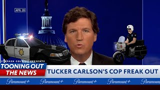Tucker Carlson's under-policing freak out