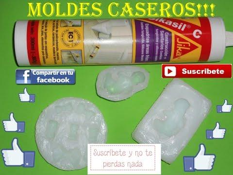 Como hacer molde  caseros de  silicona neutra # n°2 (04*10*2016)