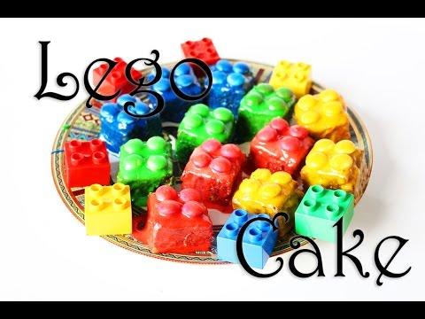 Lego Kuchen backen: Rezept von Lego Brownies. Partyidee oder Geburtstagskuchen