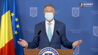 Iohannis: Construirea României post-pandemice nu înseamnă revenirea la starea de dinainte