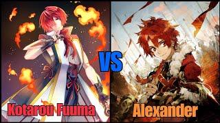 Fuuma Kotarou  - (Fate/Grand Order) - FGO valentines event Fuuma Kotarou vs Alexander