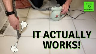 What is best steam cleaner for grout