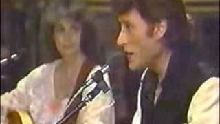 "Johnny Hallyday & Emmylou Harris "" If I Were A Carpenter """