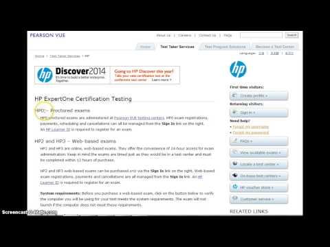 HP QC Certification HP0-M46 ALM software 11.X AIS Certification ...