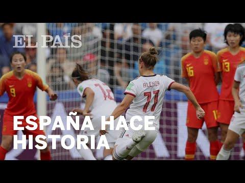 FÚTBOL FEMENINO | España empata ante China y llega por primera vez a octavos