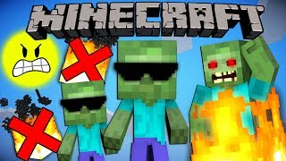 Why Baby Zombies Don't Burn in Daylight - Minecraft