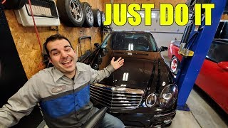 Here's How I Went From Not Knowing How To Add Engine Oil To A Mercedes Master Tech In 2 Years!