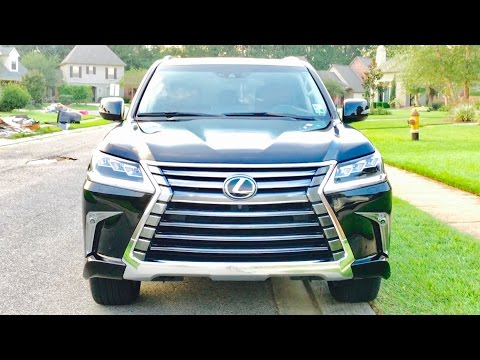 MY NEW 2016 Lexus LX 570 Full Review / Start Up / Exhaust /Short Drive