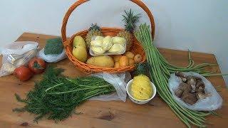 Рынок выходного дня. Цены на фрукты и овощи - Жизнь в Китае #134