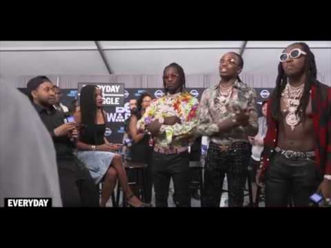 Almost fight Between Migos, Joe Budden, and DJ Akademiks during interview