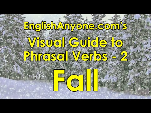 Phrasal Verbs with Fall - Visual Guide to Phrasal Verbs