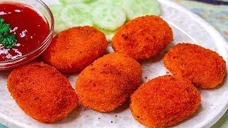 Potato Nuggets Recipe   Easy Potato Snacks Recipe   Kids Tiffin box Idea   Toasted