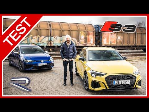 Audi S3 vs. Golf 8 R: Gleich und doch GRUNDVERSCHIEDEN - Soundcheck, Überland, Preise, Ausstattung