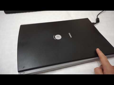CanoScan LiDE 25 - USB Scanner (Review)