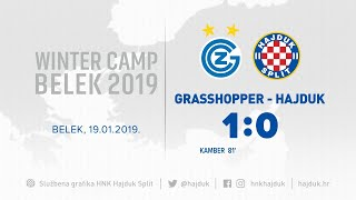 Live: Grasshopper - Hajduk