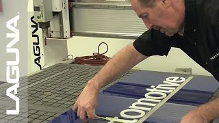 Sign Making with a Router - Plastic - SmartShop® II Router