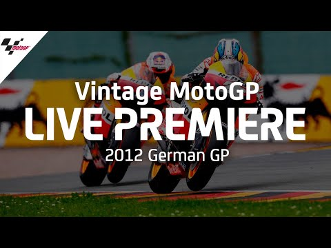MotoGP 2012年に行われたMotoGP ドイツGP ハイライト動画