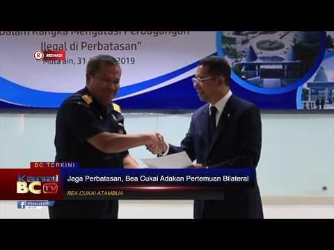 [REDAKSI] Jaga Perbatasan Indonesia - Timor Leste, Bea Cukai Adakan Pertemuan Bilateral