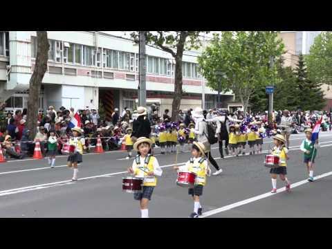 あしたば幼稚園・第83回北海道音楽大行進2015