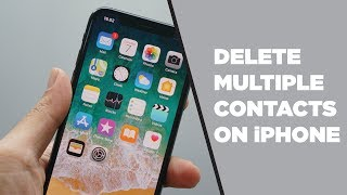 How To Delete Multiple Contacts On iPhone and iPad