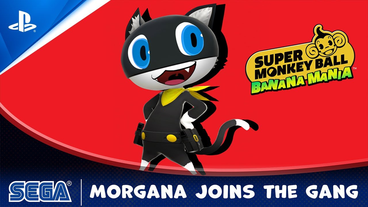 Super Monkey Ball Banana Mania: Morgana from Persona 5 joins the monkey gang