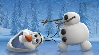 Happy Birthday Video E-Cards, Sven and Olaf from Disneys Frozen happy birthday