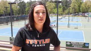 Amy Friesenhahn - UT Tyler Women's Tennis (April 23, 2014)