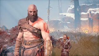God of War_ fighting a org