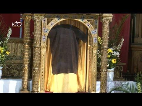 Vêpres solennelles et clôture de l'ostension de la Sainte Tunique du Christ