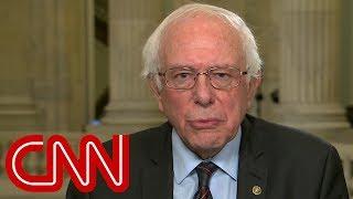 Bernie Sanders blames McConnell for government shutdown