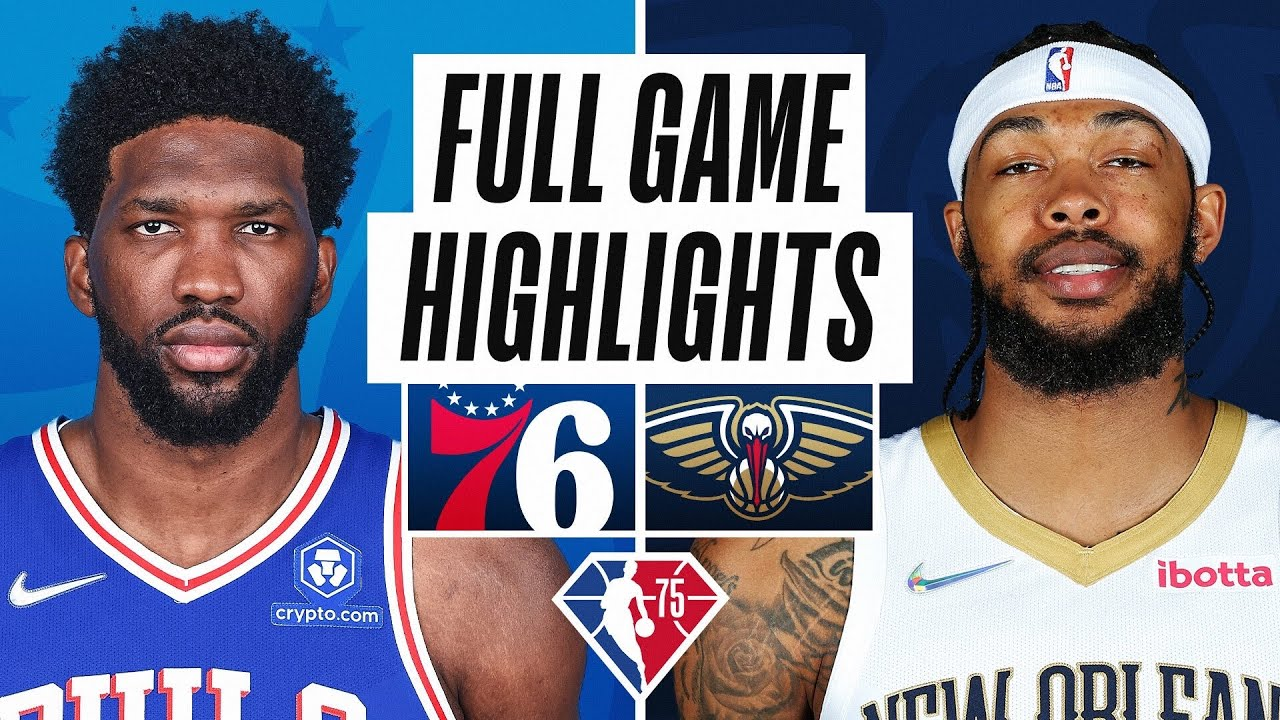 76ERS at PELICANS | FULL GAME HIGHLIGHTS | October 20, 2021
