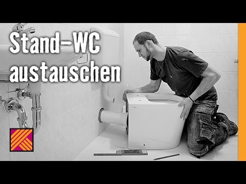 Version 2013 Stand-WC austauschen   HORNBACH Meisterschmiede