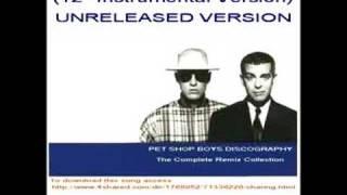 Pet Shop Boys   Always On My Mind (12'' Instrumental Version)