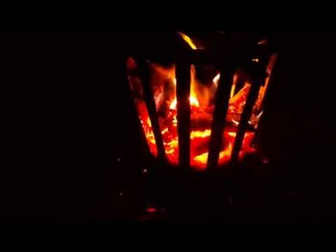 Outdoor Metal Firebasket test