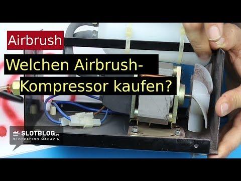Welchen Airbrush Kompressor kaufen?