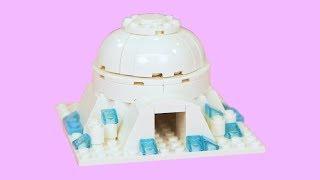 How To Make a LEGO IGLOO ! Instructions LEGO Academy DIY Tutorial for Kids - Intermediate LEGO Build
