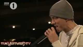 Westwood   EXCLUSIVE Eminem freestyle Radio 1