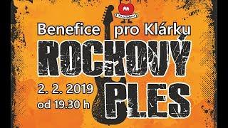 Video Rockový ples 2019 Benefice pro Klárku DELOR Rock