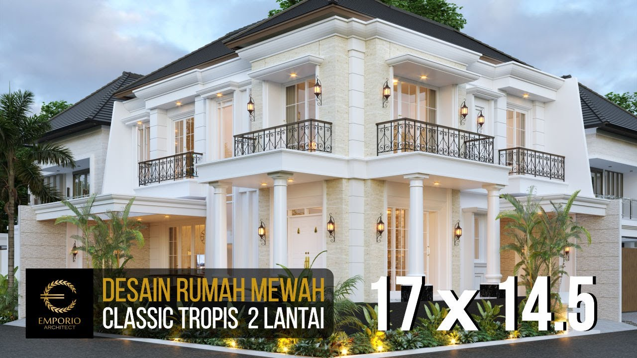 Video 3D Mr. Ruddy Classic House 2 Floors Design - Jakarta Utara