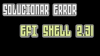 How flash bios using Efi Shell AMI - Thủ thuật máy tính