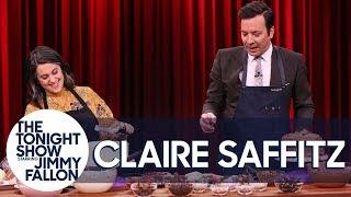 Bon Appétit'sClaire Saffitz Challenges Jimmy to a Layer Cake-Decorating Contest