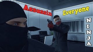 HITMAN In Hokkaido - Another Contract For Eliminating Everyone With Ninja Suit