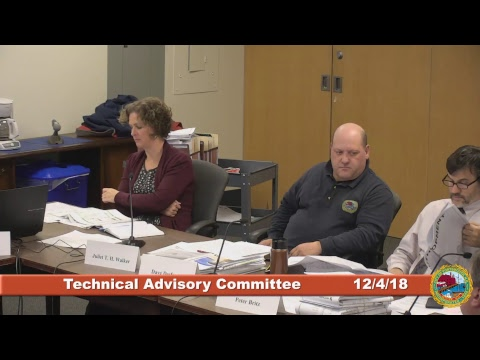Technical Advisory Committee 12.4.2018