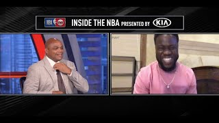Kevin Hart Was Comedy On Inside The NBA