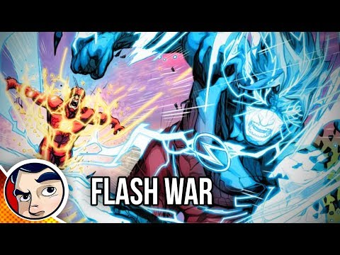 "Flash War ""The End of The Flash!"" – Rebirth Complete Story"