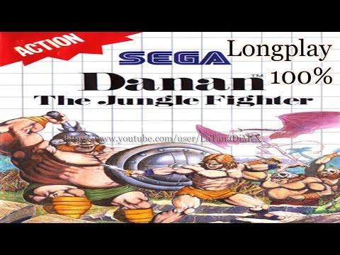 Danan: The Jungle Fighter 100% Longplay Sega Master System 1990 [HD]