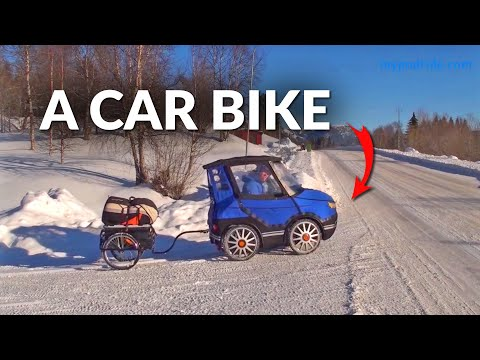 This Incredible Bicycle Car is the Vehicle We All Need!