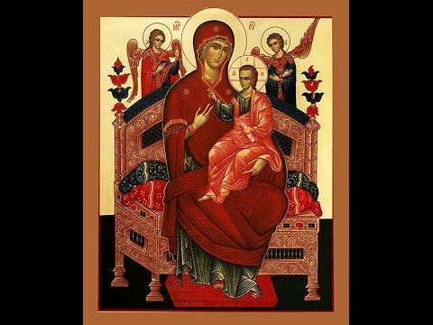 Молитва о больных Божией Матери пред иконой Ея «Всецарица»